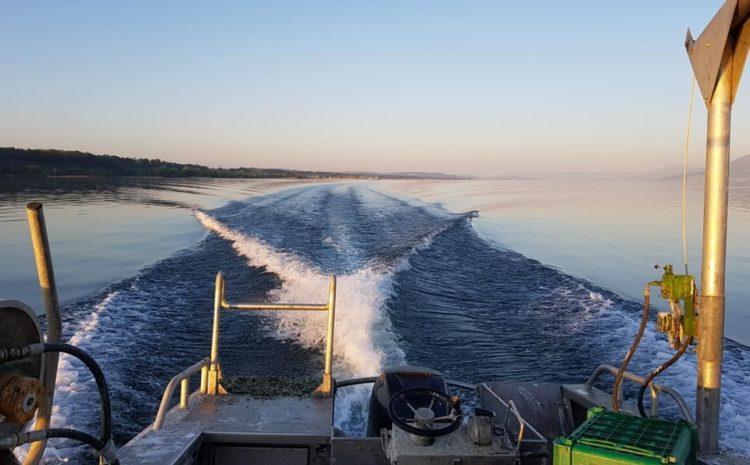 Inauguration du port des pêcheurs de Delley-Portalban réaménagé