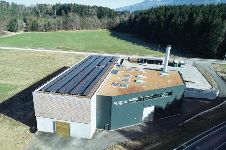 Inauguration de la centrale de chauffe de Pra-Bosson